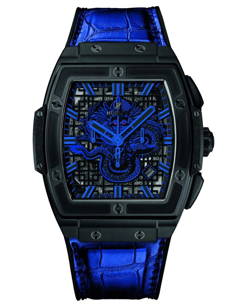 hublot-spirit-of-big-bang-fake-blue-black
