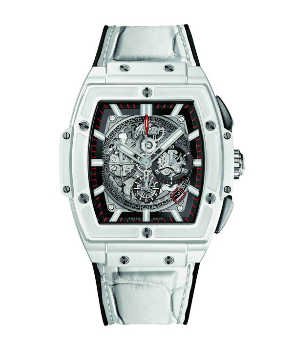 white case copy barrel Hublot Big Bang