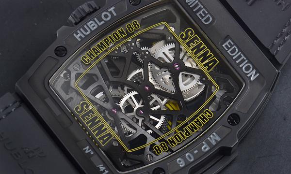 The timepieces have transparent sapphire case backs, revealing more exquisite details.